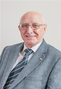 County Councillor Jim Higginson