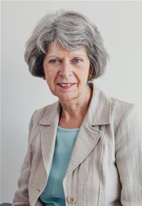 County Councillor Sheila Woodhouse