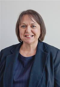 County Councillor Linda Guppy